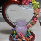 mirror with candle # 376