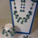 porcelain jewelry set#475