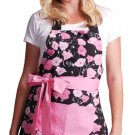 Flirty Aprons Women's Midnight Bloom Apron