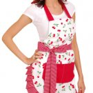 Flirty Aprons Women's Very Cherry Apron