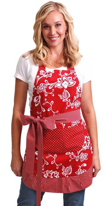 Flirty Aprons Women's Sassy Red Apron