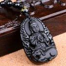 Buddha pendants patron saint of natural obsidian