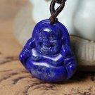 GOOD luck Natural slapis lazuli buddha  zen charm pendants