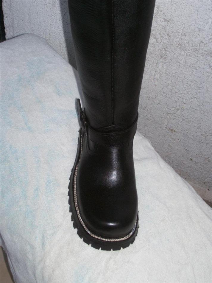 CUSTOM  HARNESS BOOT 18 INCHES HIGH SHAFTS ANY COLOR
