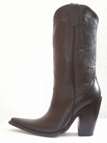 CUSTOM cowboy boot 5 inches heels 16 inches high shaft