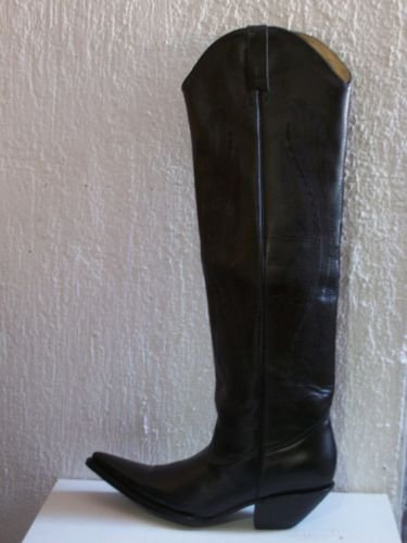 MEN # 9.5COWBOY BOOTS 22 INCHES TALL  2 INCHES HEELS k9