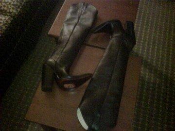 "COWBOY BOOTS 27"" TALL SHAFTS 5"" HEEL CUSTOM MADE BOOTS"