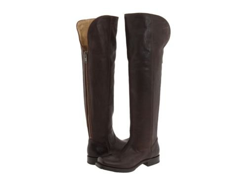 CUSTOM BOOT BACK ZIPPER SQUARE TOE 32 INCHES TALL