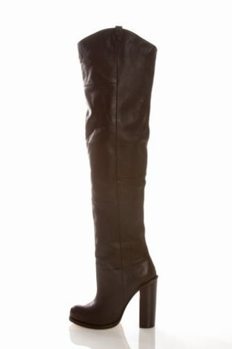 CUSTOM cowboy boot ROUND TOE 18 inches high with zipper or without zipper