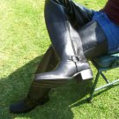 Harness boots  22  inches tall shafts made to order any size men or woman