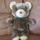 "1999 Animal Fair Brown Bear Tan Ears Snout Feet 20"""