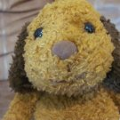 Gund #5360 Wagner Old Fashioned Carmel Brown Ears Puppy Dog Plush 9""