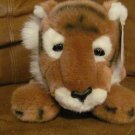 WT Gund Tiger #44531 Orange Brown Black Stripped Lovey Plush 16""