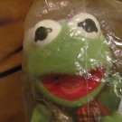 "NBO 1988 Mcdonalds Jim Hensons Muppet Baby Kermit Christmas Lovey Plush 9"""