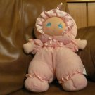 Little Darlin's Doll Pink Terry Cloth Lovie Pawsenclaws & Co. Well-Made Toy MFG and Co. 14""