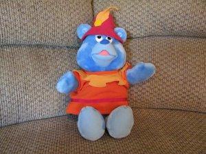 "Vintage 1985 Fisher Price Walt Disney Productions Tummi Gummi Lovey Plush Gummi Bears Show 17"""