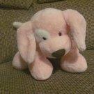 Baby Gund 58374 Pink Floppy Spotted Spunky Puppy Dog Lovey Plush