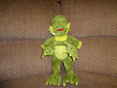 "1999 Stuffins Inc Universal Studios Large Creature From The Black Lagoon Lovey Plush 16"""
