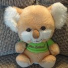 "Vintage 1982 Animal Fair #6651A Koala Critter Sitters Lovey Plush 9.5"""