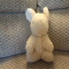 Antique Vintage Gund Tan Bunny Rabbit Lovey Plush 10""