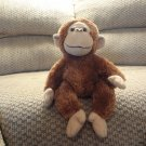 Russ Berrie Heartford Brown Monkey #29691 Lovey Plush 11""