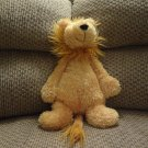 "NWT Jellycat Bunglie Lion Furry Mane  Black Button Eyes Velvet Nose Lovey Plush 15"""