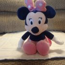 Asthma And Allergy Foundation Minnie Mouse Pink Skirt Bow Shoes Lovey Plush 13.5""