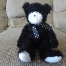 Douglas The Cuddle Toy Black Teddy Bear Lovey Plush 9""