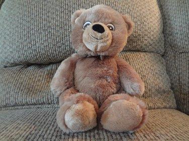 "2010 Garanimals Prestige #82230 Brown Teddy Bear Lovey Plush 13"""