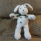 Wendy Bellissimo #9415293 Love Dalmation Spotted Puppy Dog Lovey Plush Green Bow