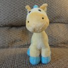 Carters Child Of Mine #88236 Yellow Spotted Giraffe Baby Plush Lovey 7.5""