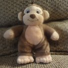2010 Garanimals Baby Monkey Lovey Plush Style 82497 8""
