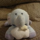 Russ Berrie Baby #34698 Sweet Dreams Cloud Star Elephant Musical Crib Pull Toy Lovey Plush