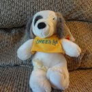 WT Vintage 1988 Dakin Cheer Up Bandages Get Well Soon Puppy Dog Plush 7.5""