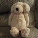 "Jellycat Bunglie Golden Retriever Puppy Dog Black Button Eyes Velvet Nose Lovey Plush 11"""
