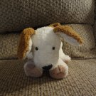 Carters Starters #34785 Black Button Eyes Puppy Dog Spot On Tail  Lovey Plush 9""