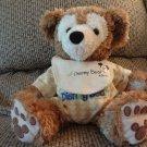 """My First Disney Bear Hidden Mickey Plush w/ Bib Pre Duffy 13"""""""