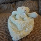 Blankets and Beyond Green Swirls Teddy Bear Skirted Security Blanket Lovey Plush