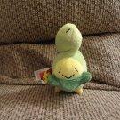 2007 Jakks Pokemon Nintendo Budew Generation 4 Grass Poison Type Green Yellow Plush Lovey