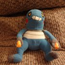 Pokemon Nintendo Croagunk Frog Generation 4 Poison Fighting Type Plush