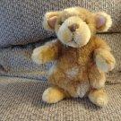 "Melissa & Doug Lifelike & Lovable Carmel Brown Tan Soft Furry Puppy Dog Lovey Plush 8"""