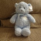 NWT Baby Gund #58618 My First Teddy Blue Teddy Bear Lovey Plush 13""