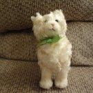 "NWT 2006 Baby Gund  John Grossman Collection #58685 Cream Brown Furry Tabby Kitty Cat Lovey Plush 7"""