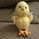 "NWT 2006 Baby Gund John Grossman Collection #58686 Yellow Orange Chick Plush Lovey 7"""