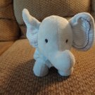 """Carters Just One Year Star #99326 Stitched Ears Lovey Elephant Plush 10"""""""