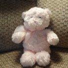 """Baby Gund My First Teddy #58614 Lovey Soft Pink Fur Teddy Bear Plush 9"""""""