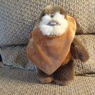 "WTLN 2012 Disney Lucasfilm Ltd Furry Ewok Star Wars Fleece Hoodie Lovey Plush 9"""