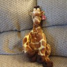 WT 2003 Ty Classic Hightop Brown Spotted Tan Lovey Giraffe Plush 20""