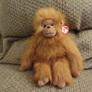 Vintage WT Ty Classic 1994 Tango Monkey Orangoutang Orange Brown Hairy Lovey Plush 11""