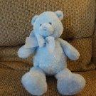 """Baby Gund Sweetkins #58735 Soft Cuddly Blue Lovey Teddy Bear Plush 12"""""""